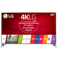 Ultra HD TV LED LG 49'' Ultra Slim, 4K, DTV, 4 HDMI, 2 USB - 49UJ6565