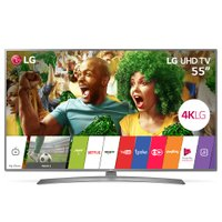 Ultra HD TV LED LG 55'' Ultra Slim, 4K, DTV, 4 HDMI, 2 USB - 55UJ6585