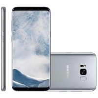 Smartphone Samsung Galaxy S8 Plus, 64GB, Dual Chip, 12MP, 4G, Prata - G955F