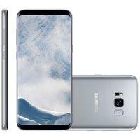 Smartphone Samsung Galaxy S8 Plus, 64GB, Dual Chip, 12MP, 4G, Prata - G955F
