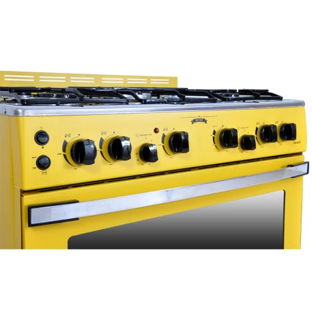 Fogão a Gás Venax Amarelo GDVT561