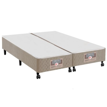 Base para Cama Box Casal Queen Castor Silver Star Air Híbrido - 158x198