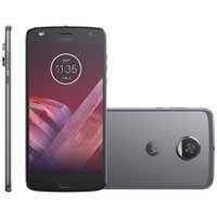 Smartphone Motorola Moto Z2 Play Sound 64GB, Dual, 12MP, 4G, Platinum