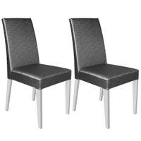 Kit 2 Cadeiras Madesa Cristal - 4129
