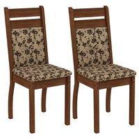 Kit 2 Cadeiras Madesa Luna - 4237
