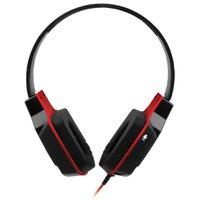 Fone de Ouvido Headset Multilaser Preto com vermelho PH073