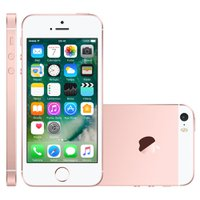 iPhone SE Apple, 32GB, 12MP, 4G, Single Chip, Ouro Rosa