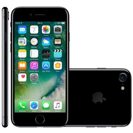 Iphone 7 Apple 32 GB Preto Brilhante