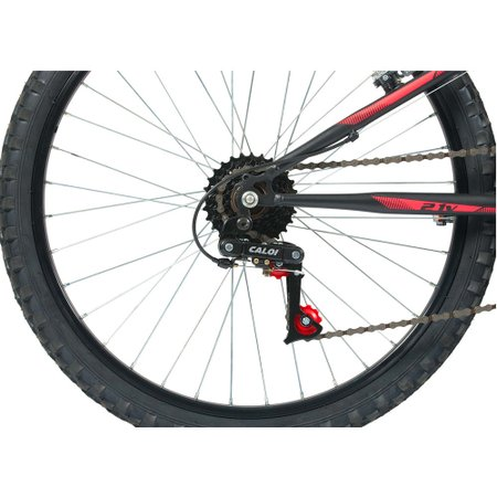 Bicicleta Caloi Max Preta 2017 Aro 24