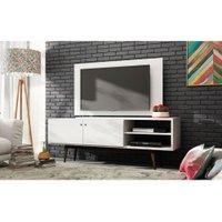 Rack Bancada com Painel para TV BRV Móveis Linha Wood, 2 Portas - BPI31