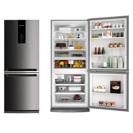 63e7baf42 Refrigerador Brastemp Inverse Frost Free 2 Portas BRE57AK. Refrigerador   Geladeira  Brastemp