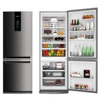 Refrigerador / Geladeira Brastemp Frost Free, 2 Portas, 478L, Evox - BRE58AK