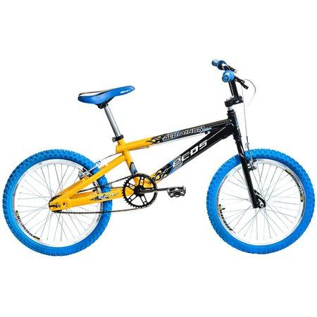 Bicicleta Enzo Ecos Aro 20 Preto/Amarelo