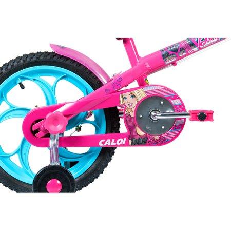 Bicicleta Caloi Barbie 2017 Rosa