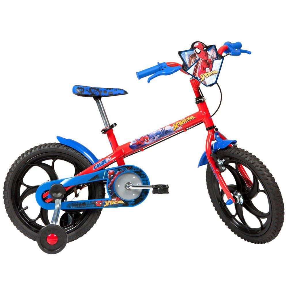 918acc1f1 Bicicleta Caloi Spider Man 2017