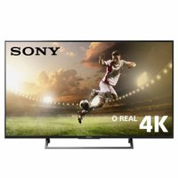 Ultra HD TV LED 49 Sony, 4K, 3 HDMI e 3 USB, Wi-Fi - KD-49X705E