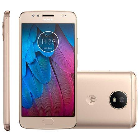 Smartphone Motorola Moto G5S, 32GB, Dual, 16MP, 4G, Ouro - XT1792