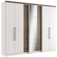 Guarda-Roupa / Roupeiro THB Absolut Plus Glass 7 Portas
