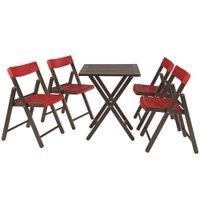 Conjunto Mesa com 4 Cadeiras Tramontina 10630/029