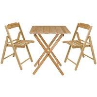 Conjunto Mesa com 2 Cadeiras Tramontina 10630/068