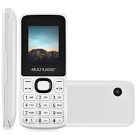 Celular Multilaser New Up, Dual Chip, Câmera VGA, Bluetooth, Branco - P9033