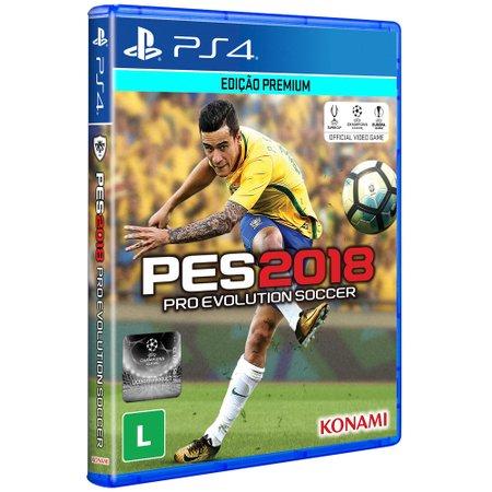 Pro Evolution Soccer 2018 para PS4