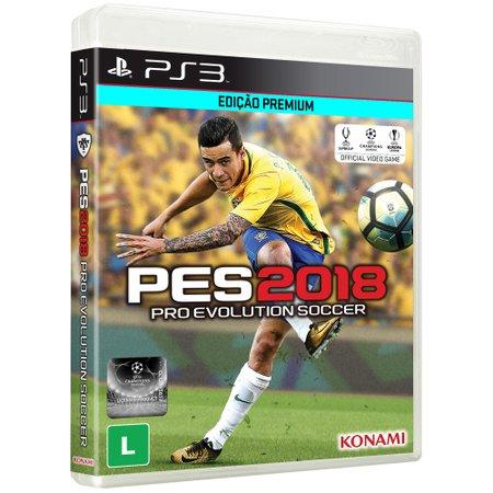 Pro Evolution Soccer 2018 para PS3