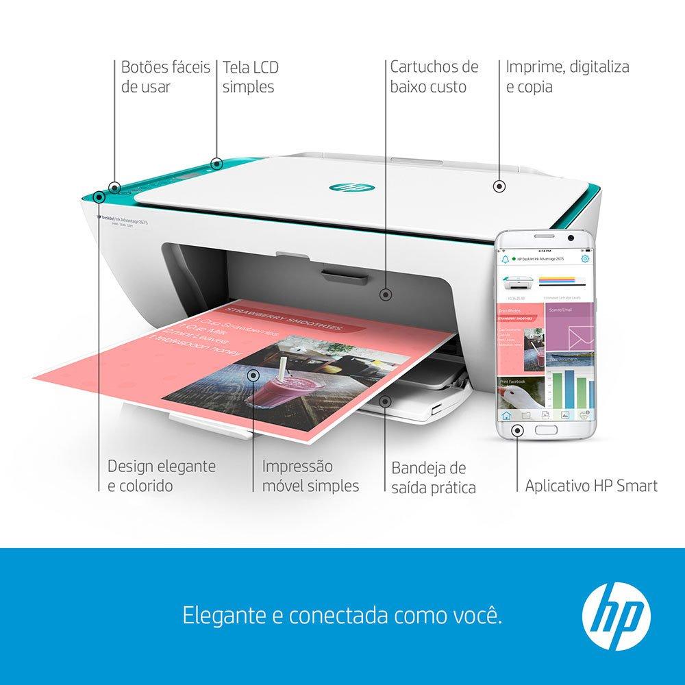como instalar impressora hp 2676