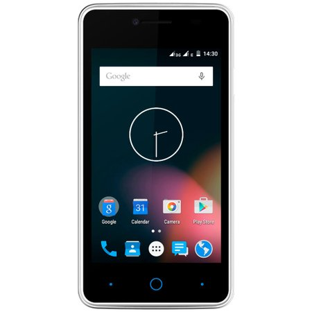 Smartphone ZTE KIS, Dual Chip, 3G, 4GB, Câmera 5MP, Branco - C341