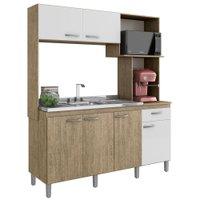 Cozinha Compacta Decibal, 6 Portas, 1 Gaveta - D955