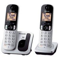 Telefone Sem Fio Panasonic com Ramal e ID - KX-TGC212LB1