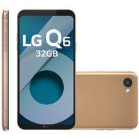Smartphone LG Q6, Dual Chip, 4G, 32 GB, 13MP, Rosê Gold - M700TV