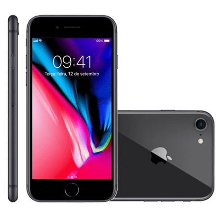 iPhone 8 Apple Cinza Espacial 256GB