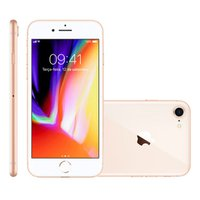 iPhone 8 Apple, 256GB, 12MP, 4G, iOS 11, Dourado