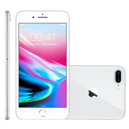 iPhone 8 Plus Apple Prata 64GB