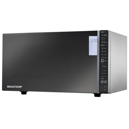 Micro-ondas Brastemp Grill 32 Litros, 900 W, Espelhado - BMG45AR