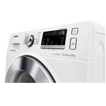Lava e Seca Samsung 10,2Kg, 12 Programas de Lavagem, Branca - WD10M44530W