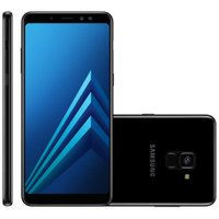 Smartphone Samsung Galaxy A8 Plus, Dual Chip, 64GB, 16MP, 4G, Preto – A730F