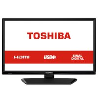 TV LED HD Toshiba 24'', 1 HDMI, 1 USB - 24L1700