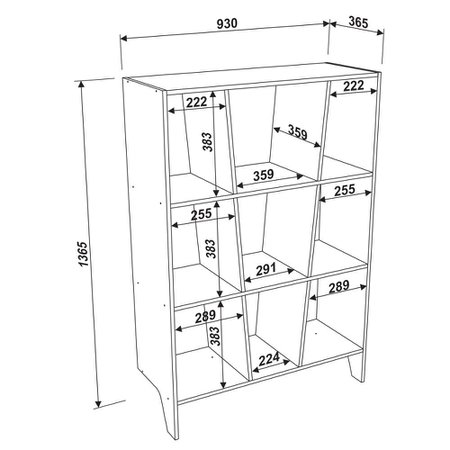 Estante Artesano Lift - 12510