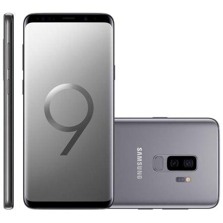 Smartphone Samsung Galaxy S9 Plus, Dual Chip, 128GB, 4G, Cinza – G9650