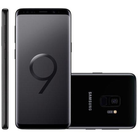 Smartphone Samsung Galaxy S9, Dual Chip, 128GB, 12MP, 4G, Preto - G9600