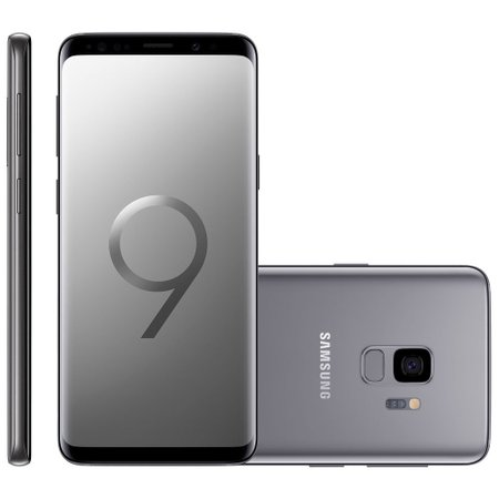 Smartphone Samsung Galaxy S9, Dual Chip, 128GB, 12MP, 4G, Cinza - G9600