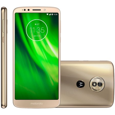 Smartphone Motorola Moto G6 Play, 32GB, Dual, 13MP, 4G, Ouro - XT1922