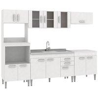 Cozinha Compacta Fellicci Classic 06, 13 Portas, 2 Gavetas - CC06ST