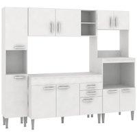 Cozinha Compacta com Tampo Fellicci Classic 08, 11 Portas, 2 Gavetas - CC08CT