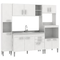 Cozinha Compacta Fellicci Classic 08, 11 Portas, 2 Gavetas - CC08ST