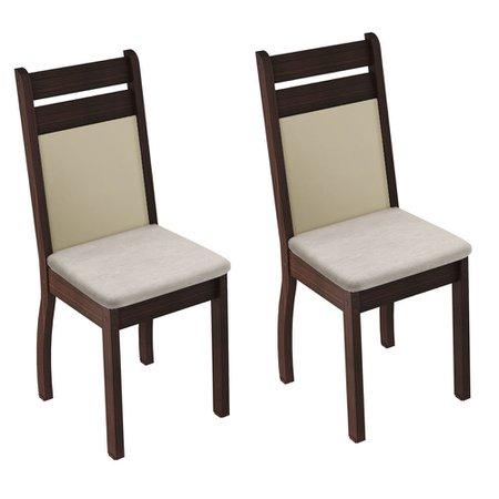 Kit 2 Cadeiras Madesa Simone - 4237X