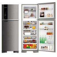 Refrigerador / Geladeira Brastemp Frost Free, 2 Portas, 375L, Evox - BRM45HK