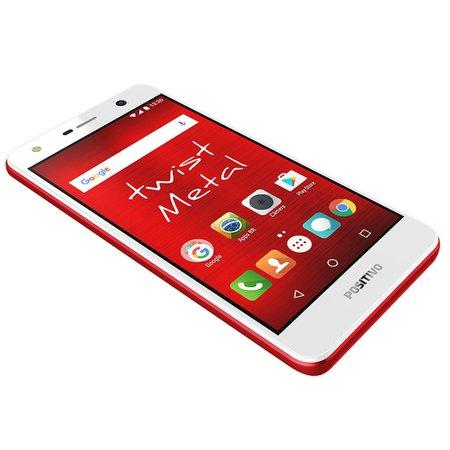 Smartphone Positivo Twist Metal, 16GB, 8MP, 3G, Dual Chip, Vermelho - S530